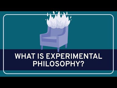 PHILOSOPHY - Contemporary: Experimental Philosophy