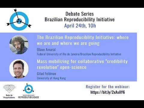 Debate series: Gilad Feldman & Olavo Amaral | Open Science [Brazilian Reproducibility Initiative]